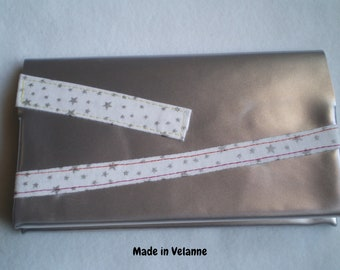 BALANCES {-30%} star checkbook silver