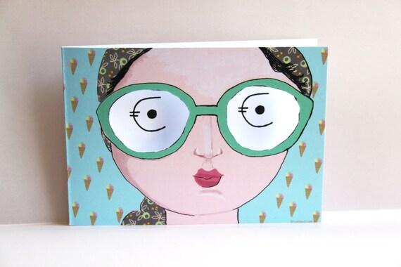 hnliche artikel wie verpackung geldgeschenk geldgutschein karte gutschein eis brille auf etsy. Black Bedroom Furniture Sets. Home Design Ideas