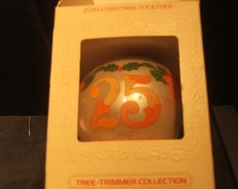 Classic 1980 Hallmark - 25th Christmas Together