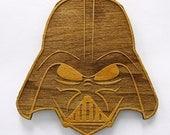 Star Wars Stylized Darth Vader Wooden Fridge Magnet