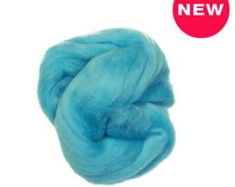 Super-fine merino wool roving  ,Color:water