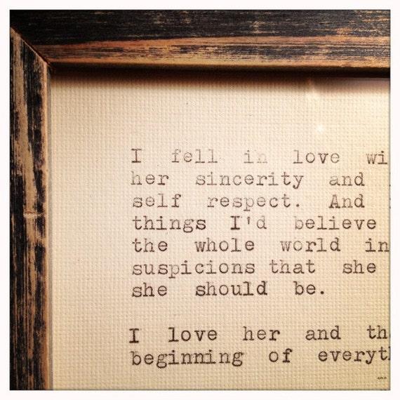 F Scott Fitzgerald Love Quotes. QuotesGram