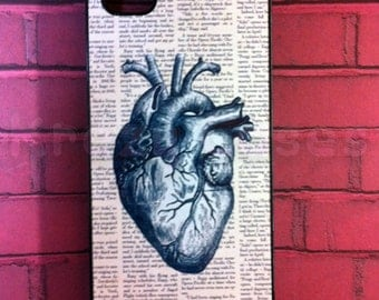 iPhone 6 Plus CaseiPhone 6 Case, iPhone 5s case, Iphone 5 Case,  Anatomy Heart Dictionary Art Iphone 5 Cover, iPhone SE Case, iPhone 5c Case