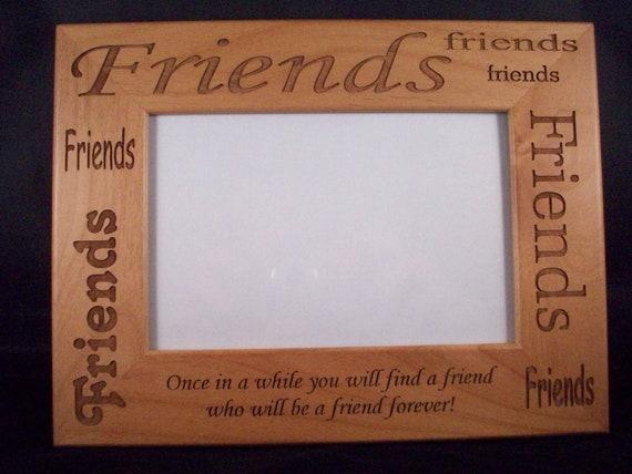 4 x 6 friends picture frame. Black Bedroom Furniture Sets. Home Design Ideas