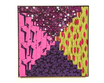 Fabric Mandala - Violet