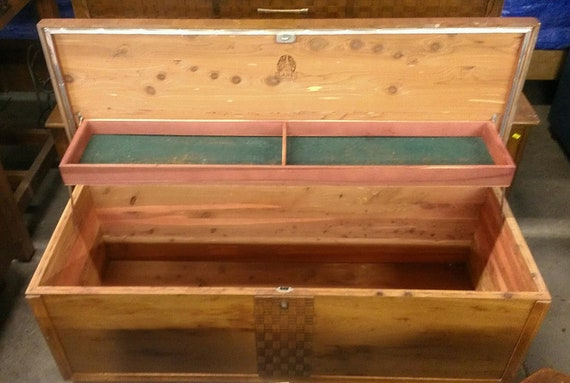 Items Similar To 1952 Lane Furniture Cedar Blanket Chest Style 2908 On Etsy