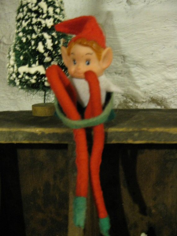Original Vintage Elf On A Shelf Made In Japan By Whimzeesnest