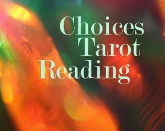 Choices Tarot Reading