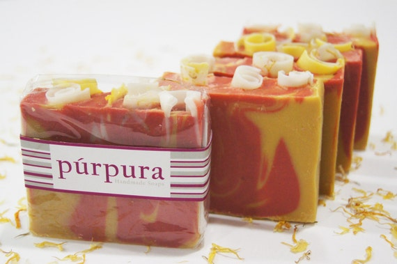 Sandalwood, Amber and Patchouli Soap by Purpura Soaps