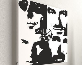 """U2 - Pop No.1  - 55 x 55 cm (21,6"""" x 21,6"""")"""