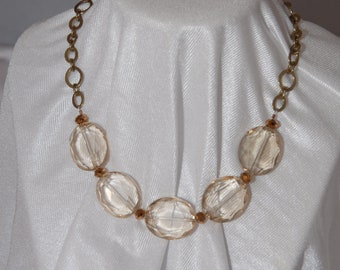 Champagne Glass Necklace