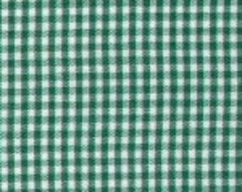 """HALF YARD 1/16"""" KELLY Fabric Finders Gingham"""