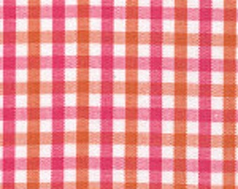 Hot Pink and Orange Fabric Finders Tri-check