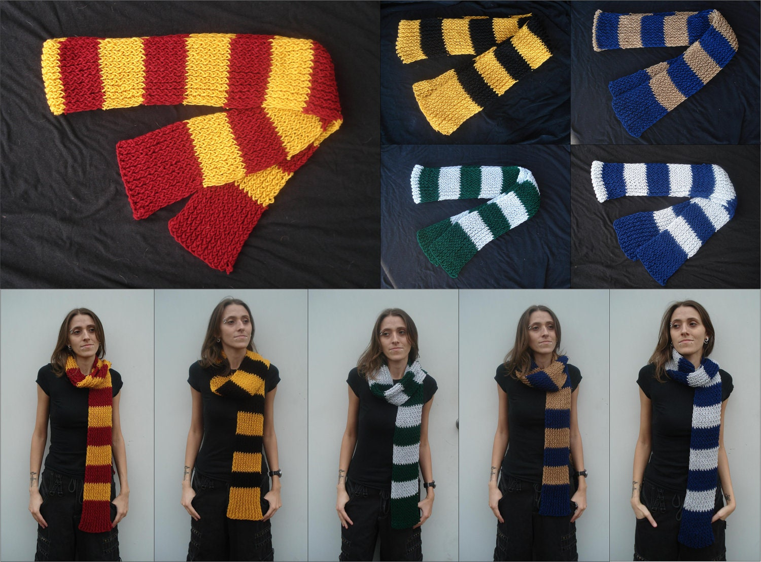 hogwarts house colors influenced scarves