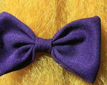 Deep Plum Bow