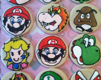 Super Mario Bros. Cookies