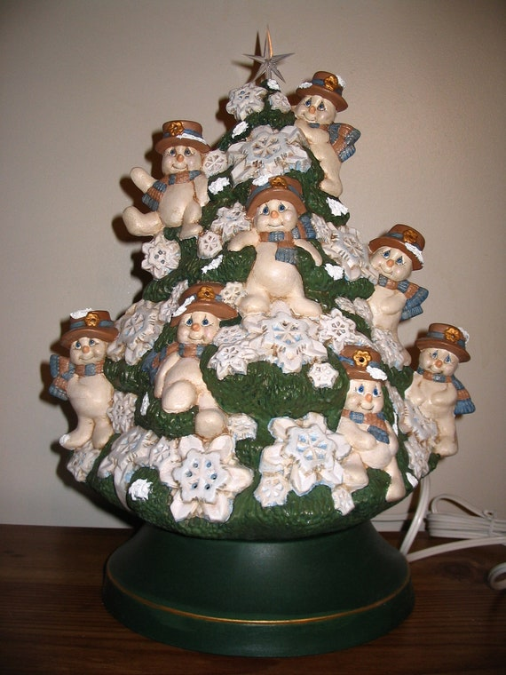 Christmas Tree Ceramic Mold