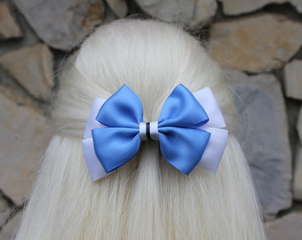 classic alice in wonderland hair bow