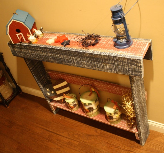 Early Century Reclaimed Barn Wood Hand Made By