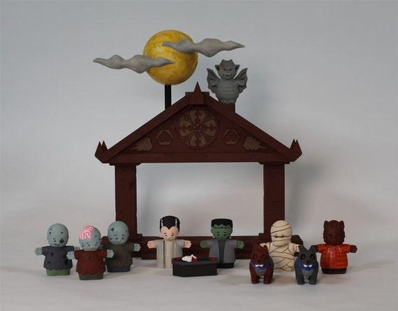 The First Halloween Nativity Set