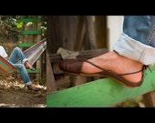 Hand Made Leather Sandal for Man - Aviv Finger Sandals
