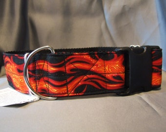 Flame Dog Collar