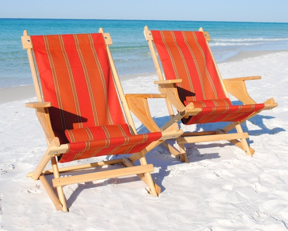 Items Similar To Hand Made Folding Cypress Deck Chair