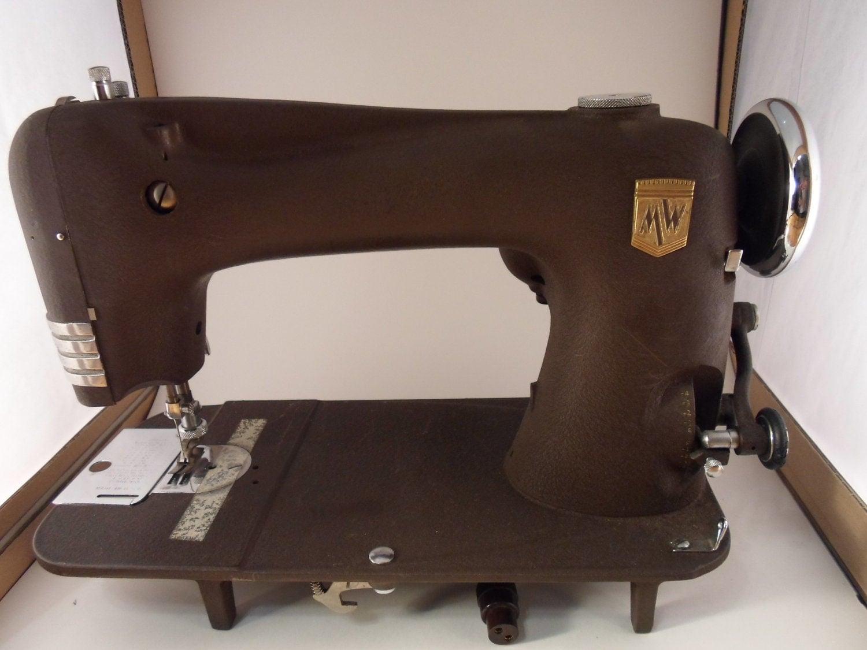 vintage montgomery ward sewing machine