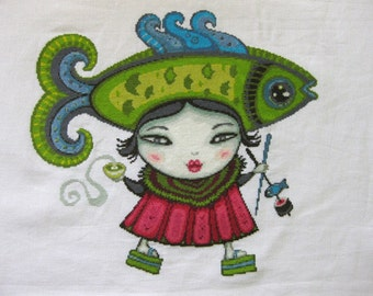 Cross Stitch Pattern : Japan Love