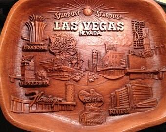 Price cut---Souvenir 3D plastic  Las Vegas tray