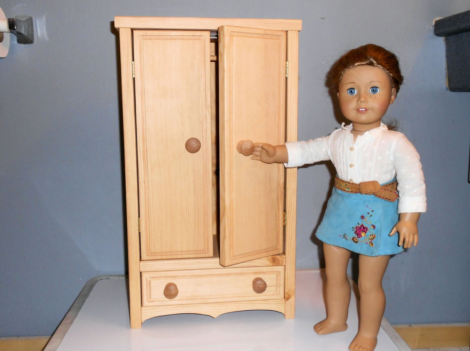 American girl doll or any inch armoire