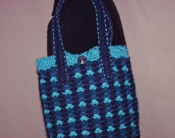 Joyful Blues Hand Bag