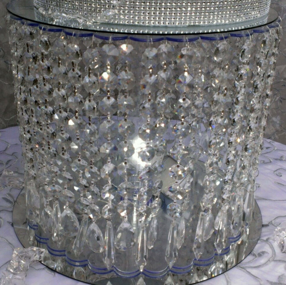 sale sale sale wedding crystal cake stand by fashionproposals