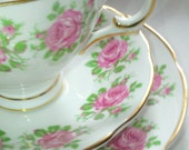 Vintage Irish Royal Tara Bone China Tea Set