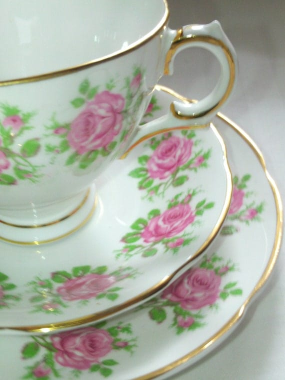 Vintage Irish Royal Tara Bone China Tea Set By