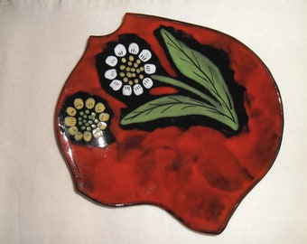 Vinatge French Hand painted Dish