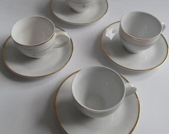 Queens Jubilee Tea Cups and Saucers