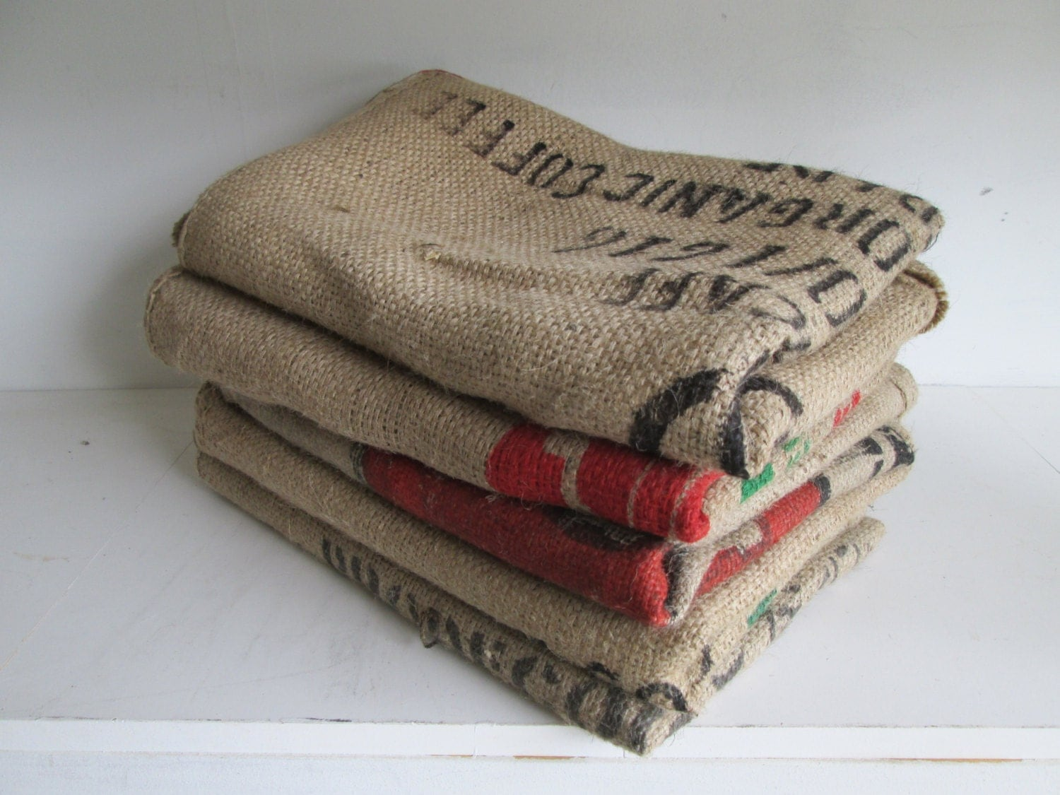 burlap coffee bags 5 burlap coffee sacks coffee bags by