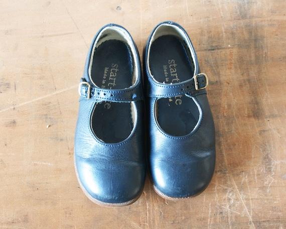 vintage children s leather shoes 1980s