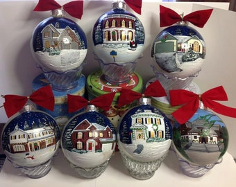 New Home Custom Christmas Ornaments House Warming Gift