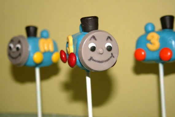 Train Cake Pops Etsy