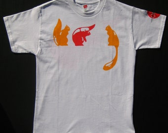 Youth Stylish 3 Squirrel Tee-Shirt