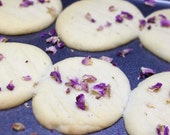 Rose Scented Butter Cookies