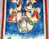 Panel for Angels on High Wall Hanging