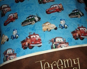 Personalized Disney Cars Pillowcases STANDARD SIZE