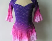 Custom Figure Skating Competition Dress -- 'Celeste'