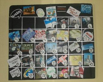Personalized Calendar, Handmade Gift, Handmade Calendar, Memories Calendar, Best Friends, Happy Birthday, Special Times, Personalized Photos