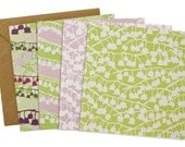 Lily notecards - pack of 4