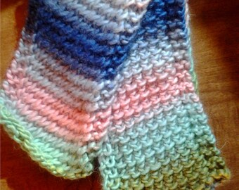 Woven Seaglass Child's Scarf