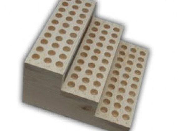 Présentoir en bois pour présentoir de Lip Balm Tubes  diamètre  ~ Presentoire En Bois